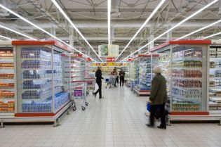 supermarkets in Moscow (195 images)