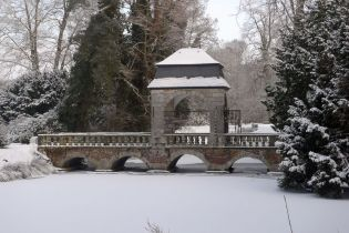 Schloss Dyck, Winter (53 Bilder)