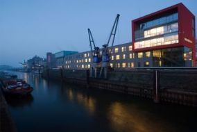 structural change, Neuss harbour (15 images)