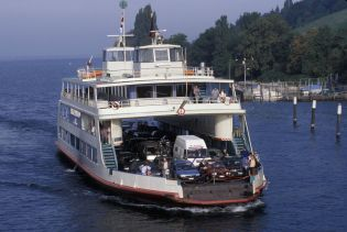 Ferry on lake of Constance (57 images)