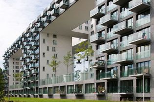 Amsterdam apartment building projects (images)