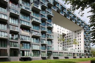 apartment buildings projects Amsterdam (images)