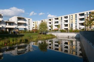 residential area in Neuss, Germany (images)