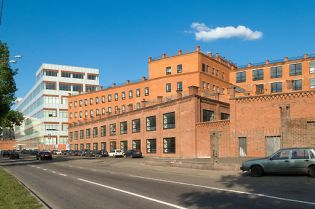 LeFort office complex Moscow (images)