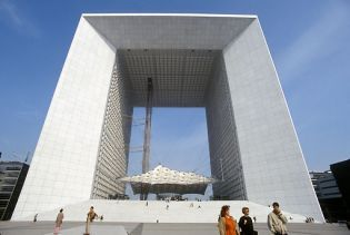 Grande Arche de la Defense (images)