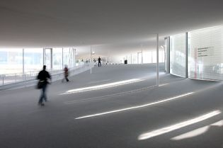 Rolex Learning Center / EPFL, SANAA (Bilder)