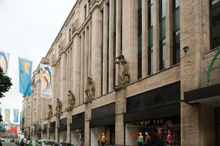 department store Tietz, Wuppertal (images)
