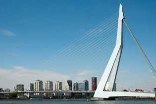 Erasmus Bridge Rotterdam (46 images)