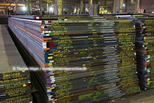 Universal Steel Dock 4 Neuss Harbour Economy Thomas Mayer Archive
