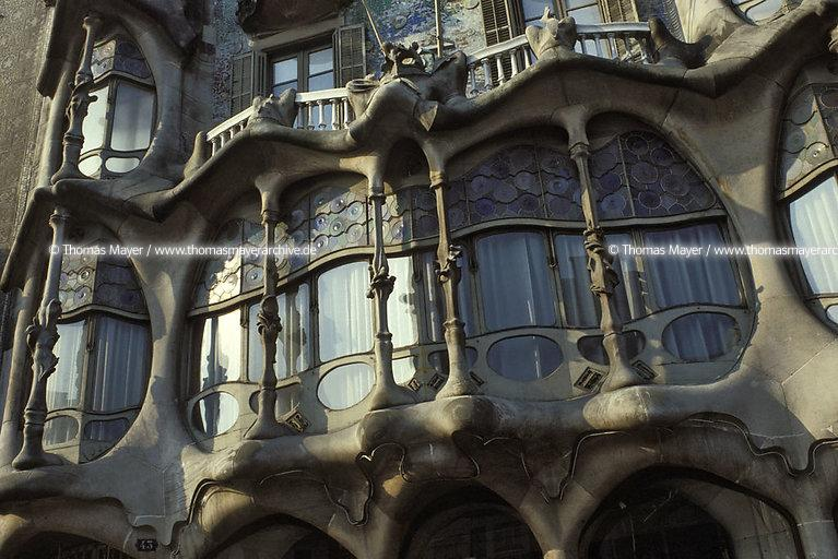 Gaudi projects Barcelona