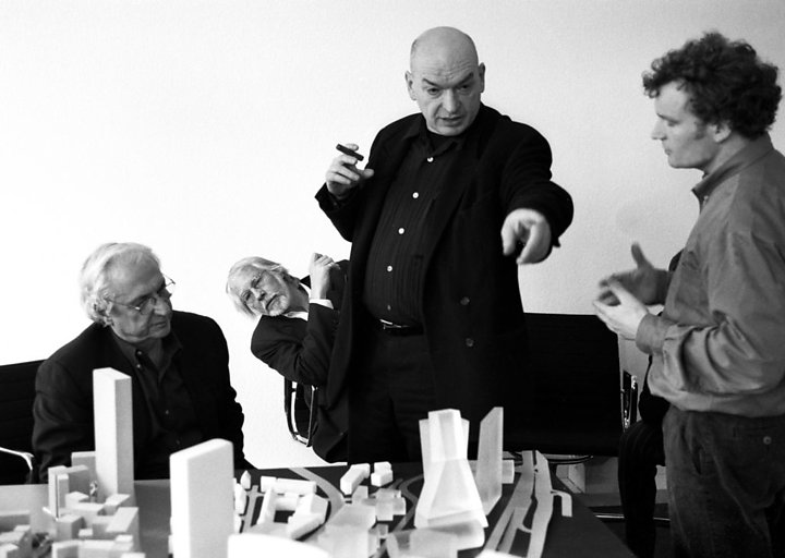 Frank Gehry, Rem Koolhaas, Jean Nouvel