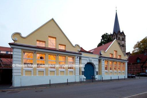 DEU, Germany, Herford, the market hall was refurbished in 2019 by architecture office Heinrich Boell