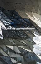 DEU, Germany, Munich, BMW Welt, architecture by Coop Himmelb(l)au, Double Cone