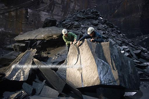 slate production in Spain