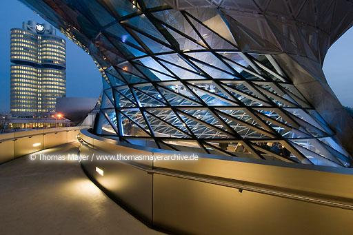 BMW Welt DEU, Germany, Munich, BMW Welt, architecture by Coop Himmelb(l)au, Double Cone  110AU20071119D0178