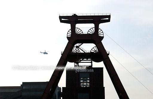 Visit Prince Philip on mine Zollverein