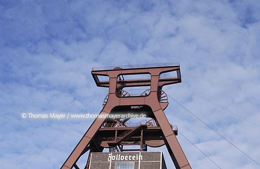 World cultural heritage site mine Zollverein