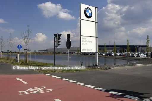 BMW Plant Leipzig, Central Area