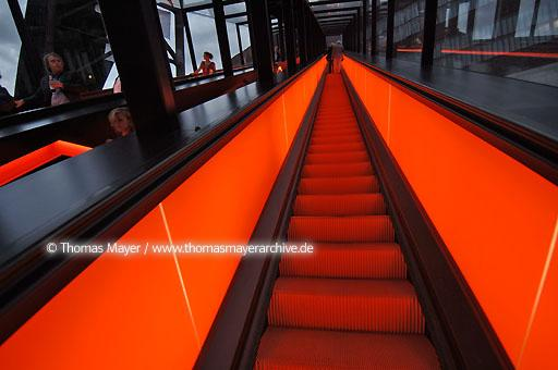 moving stairs party Zeche Zollverein