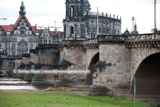 August Bridge Dresden