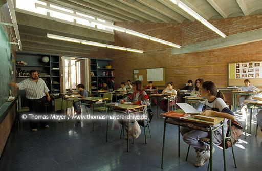 primary school in Girona, Spain