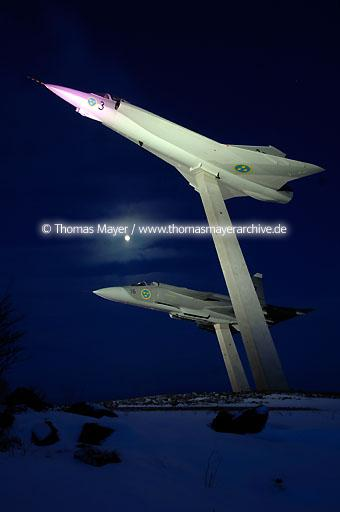 abvertising for Swedish Air Force Museum