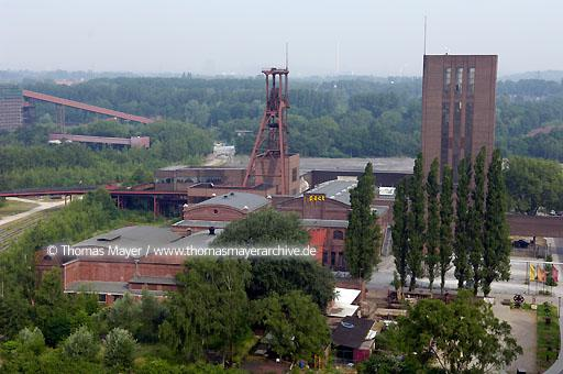 construction site Zollverein School of management and design
