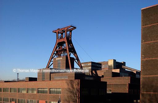 Mine Zollverein UNESCO world cultural heritage mine Zollverein, Essen, Germany, industrial architecture by Schupp and Kremmer  200AN20030225D5553