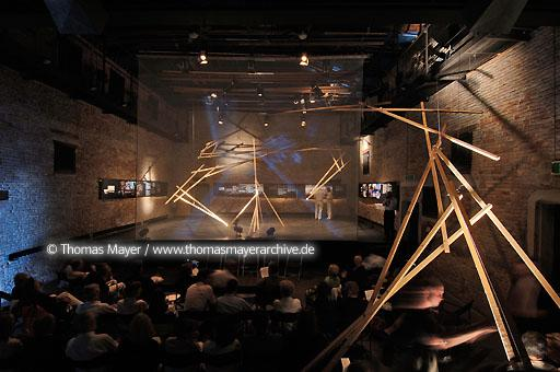 10th International Architecture Biennale Venice Italy, Venice, 10th International Architecture Biennale, the M:AI Museum for Architecture and Ingeneering Art from Germany does presentation at the the Theatro Fundamento Nove  104AL20060909D7377