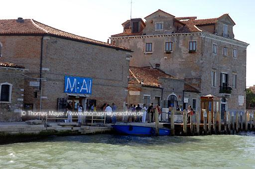 10th International Architecture Biennale Venice Italy, Venice, 10th International Architecture Biennale, the M:AI Museum for Architecture and Ingeneering Art from Germany does presentation at the the Theatro Fundamento Nove  104AL20060909D7494