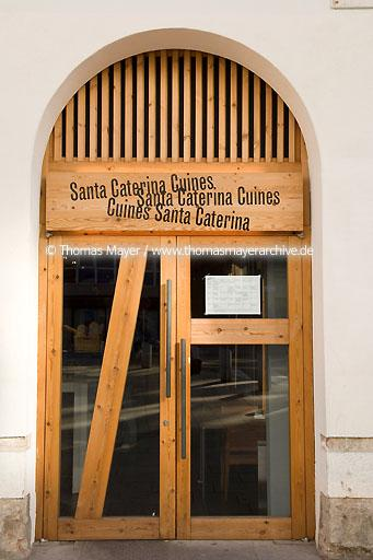 Santa Caterina Cuines ESP, Spain, Barcelona, restaurant Cuina Santa Caterina in the market hall Santa Caterina  068CV20061123D6456