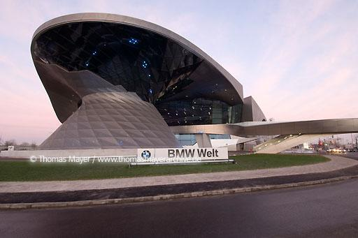 BMW Welt DEU, Germany, Munich, BMW Welt, architecture by Coop Himmelb(l)au, double cone  110AU20071119D0009