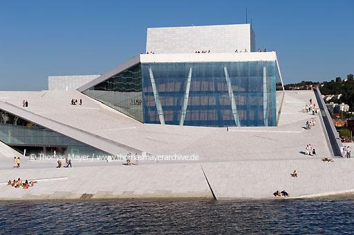 National Opera House Oslo NOR, Norway, Oslo, Norwegian National Opera House, architecture by Snohetta  115AI20080801D2913