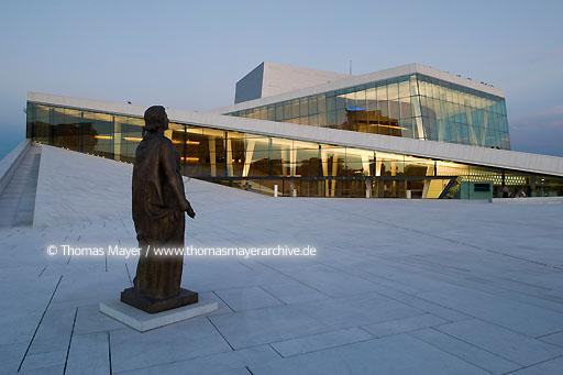 National Opera House Oslo NOR, Norway, Oslo, Norwegian National Opera House, architecture by Snohetta  115AI20080801D3175