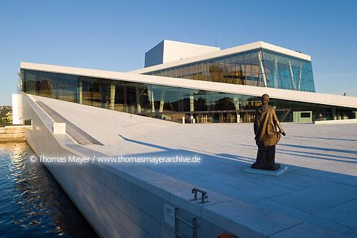 National Opera House Oslo NOR, Norway, Oslo, Norwegian National Opera House, architecture by Snohetta  115AI20080801D3069