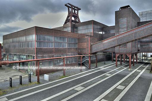 Zeche Zollverein, new grounds DEU, Germany, Essen, world cultural heritage site Zeche Zollverein, new grounds designed by Planergruppe Oberhausen  200HX20080704DHDR_0178