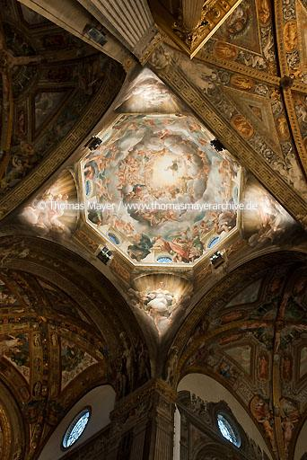 Cathedral Parma ITA, Italy, Cathedral, painting by Antonio Allegri 1526-1530  104AZ20090304D1332