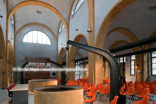 University Piacenza ITA, Italy, Piacenza, university for architecture in the earlier slaughterhouses  104BC20090305D1483