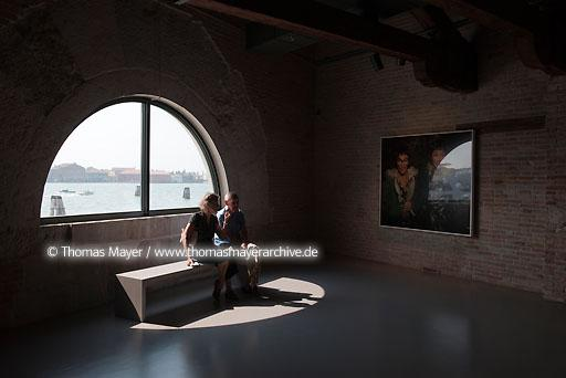 PUNTA DELLA DOGANA ITA, Italy, Venice, with its triangular shape, Punta della Dogana split the Grand Canal from the Giudecca Canal. As center for contemporary art , the former monumental port of the city present a permanent exhibition of works from Fran��ois Pinault Collection. Architecture by Tadao Ando  104BD20090827D0029