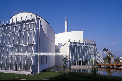 Energie-Forum-Innovation Energie-Forum-Innovation, EMR Verwaltung und Blockheizkraftwerk, Architekt: Frank O.Gehry  006AA19980601A0011