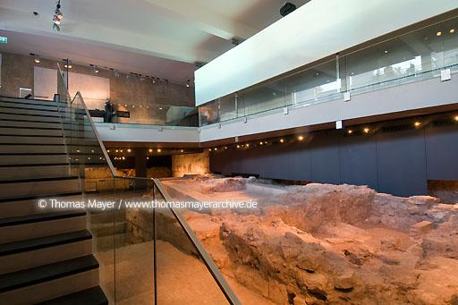 L'Almoina Archaeological Centre, Valencia ESP, Spain, Valencia, Archaeological Centre L'Almoina houses archaeological remains, found in excavation works from 1985-2005 conserving relics dating from the 2nd century B.C. to the 14th century A.D. Architects of the buildings: Jose Maria Herrera and Jose Miguel Rueda  068DE20080223D0036