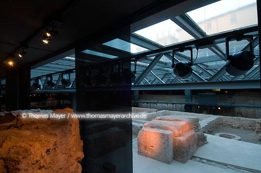 L'Almoina Archaeological Centre, Valencia ESP, Spain, Valencia, Archaeological Centre L'Almoina houses archaeological remains, found in excavation works from 1985-2005 conserving relics dating from the 2nd century B.C. to the 14th century A.D. Architects of the buildings: Jose Maria Herrera and Jose Miguel Rueda  068DE20080223D0067