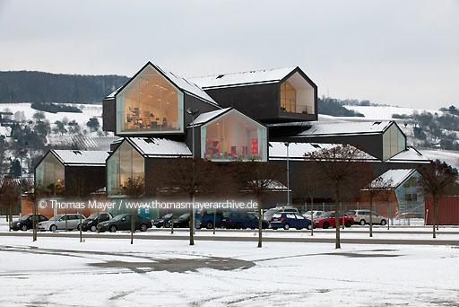 VitraHaus DEU, Germany, Weil am Rhein, the VitraHaus on Vitra Campus is where the Vitra Home Collection resides. Architecture by Herzog & de Meuron, Basel  110BH20100201D8795