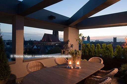 penthouse in Muenster DEU, Germany, Muenster, penthouse in an office building in the city center, interior architecture by Meike von Garrel  110BR20101004D0083