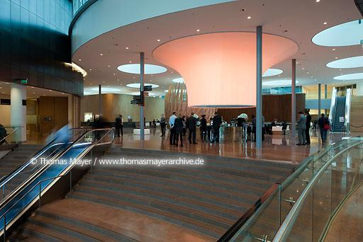 Rabobank Nederland Utrecht NLD, The Netherlands, Utrecht, new headquarters of Rabobank Nederland, architecture by Rob Ligtvoet of Kraaijvanger.Urbis Rotterdam, interior architecture by Ellen Sander of Sander Architecten Amsterdam, exhibition IKJUWIJ in the art gallery  134CE20120125D0060