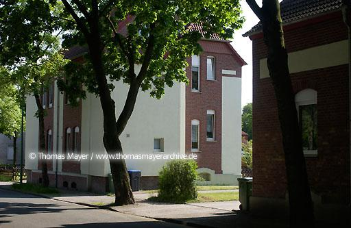 housing in Luenen Luenen, Germany, earlier housing for miners after renovation  025AG20040517D0121