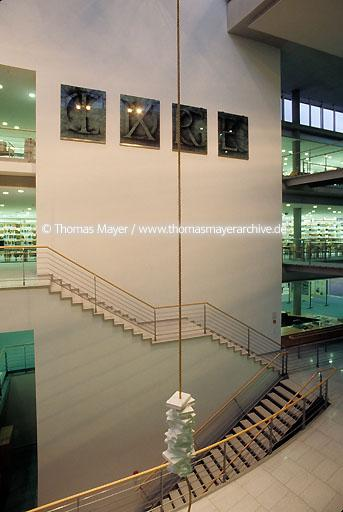 Universitiy Library Goettingen Goettingen, University Library, architect: Prof. Gerber & Partner  039AA19980621A0025
