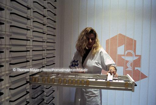 pharmacy Germany, Schwandorf, Bavaria, Altstadt-Pharmacy,  058AA19980314A0004