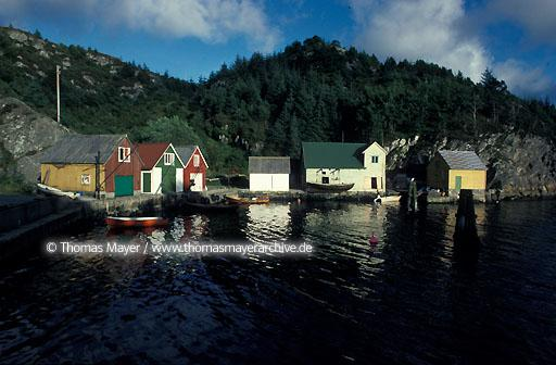 Salmon breeding, Norway Vassness on Austevoll, Norway  115AB19910512A0055