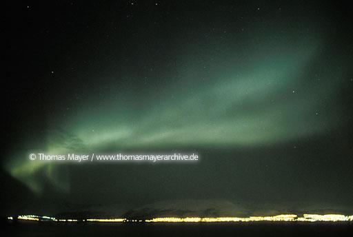 Polar Light aurea borealis near Tromso, Norway  115AH19900119A0005